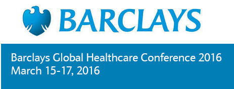Chairman and CEO of Aetna to present at Barclays Global Healthcare Conference 2016