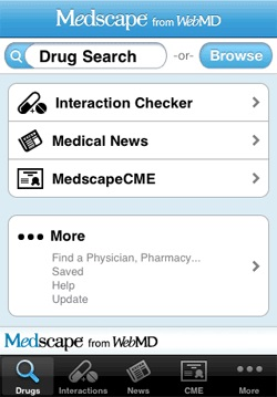 WebMD's Medscape App Develops New Feature for Doctors