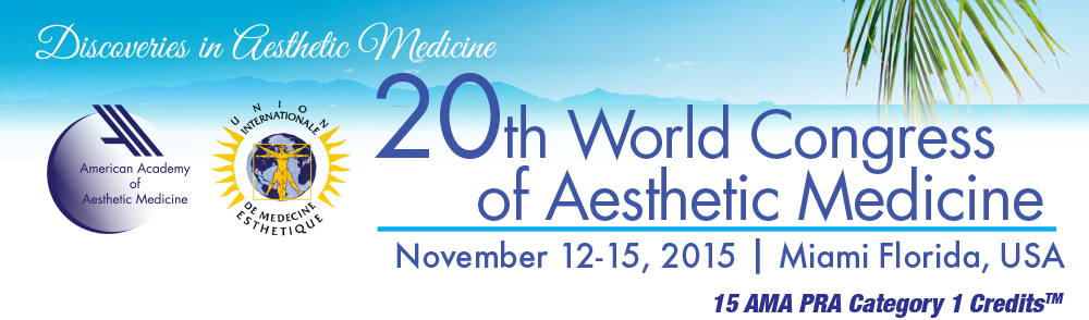 20th World Congress of Aesthetic Medicine