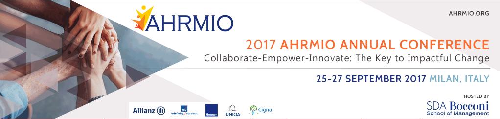 2017 AHRMIO Annual Conference