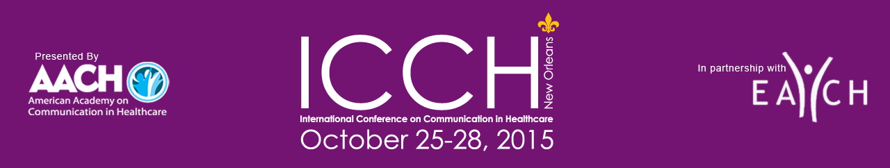 13th International Conference on Communication in Healthcare
